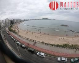 Apartamento amplo com vista espetacular para a Praia do Morro.