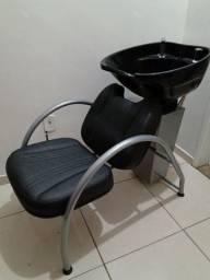 Lavatório de cabelos para barbearia ou salão