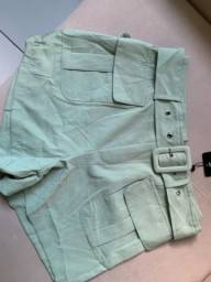 Short verde P 36/38
