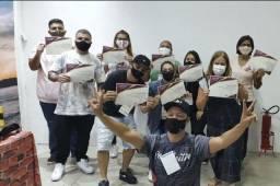 Nova turma curso presencial de sublimação e transfer  em Belo Horizonte  31/07