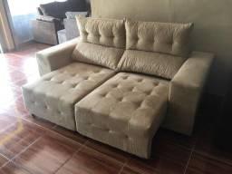 Título do anúncio: Sofa retratil reclinável confortável entrega grátis