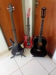 Aulas de teclado, violão...
