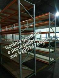 Título do anúncio: mini porta pallets pra 500kg por piso aparti de 1.100.00