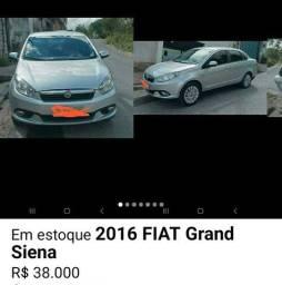 Título do anúncio: Fiat gran siena 2016/2016 1.6 flex com gas natural