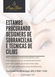 Título do anúncio: DESIGN DE SOBRANCELHA