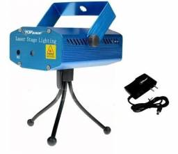 Título do anúncio: Mini Projetor Holográfico Laser Balada Sensor Rítmo Festa<br><br>