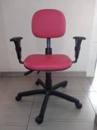 Título do anúncio: Cadeira de escritório pink