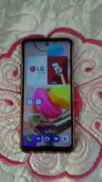 Título do anúncio: Celular da LG k52 com 64 gigas com 1 trinc