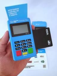 Promoção - Maquininha de Cartão Point Chip // Entrega Grátis