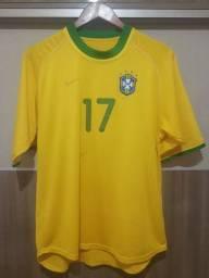 Camisa da Seleção Brasileira de jogo