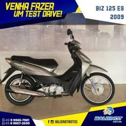 Título do anúncio: Biz 125 ES 2009 Cinza