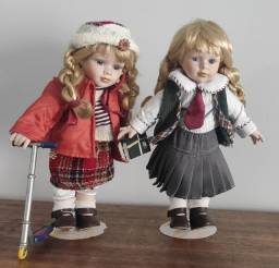 Bonecas de porcelana importadas