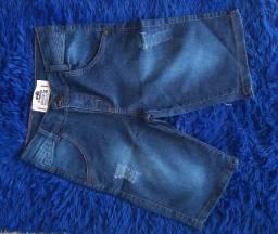 Calça jeans e bermuda jeans masculina
