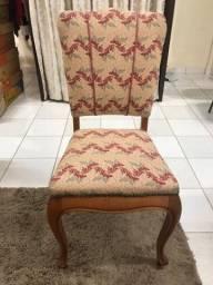 Cadeira Decô Rosa