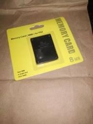 Memory card para PS2 8MB novo
