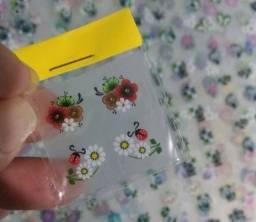 Título do anúncio: Adesivo de Unha, 10 Cartelas de Adesivo de Unha Artesanal 3D