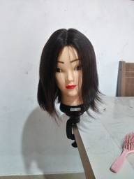 Lace front wig cabelo humano