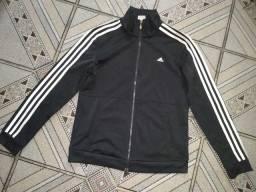 Título do anúncio: Jaqueta Adidas 3 Listras  Preto+Branco<br>