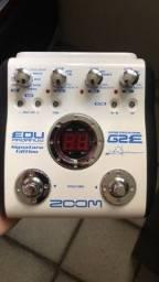 Título do anúncio: Pedaleira Zoom G2E Edu Ardanuy