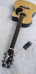 Violão elétrico natural Harmonics Ge-21