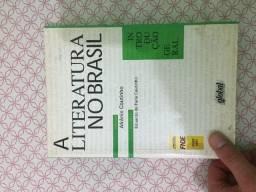 (Aceito cartão) Livro Introdução geral - A literatura no Brasil