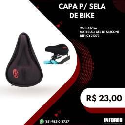 Título do anúncio: Capa para Sela de Bike com Gel - R$23,00