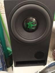 SubWoofer Magnum Rex Green 12 Pol 1200w Rms  *LER ANÚNCIO*