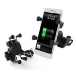 suporte carregador de celular para moto