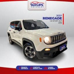 Jeep Renegade Sport 1.8 Aut 2016 - Troco e Financio (Aprovação Imediata)