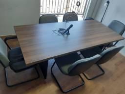 Título do anúncio: Mesa de reunião e cadeiras