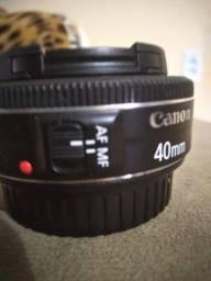 Título do anúncio: Canon 40mm 2.8 pancake R$ 850.00