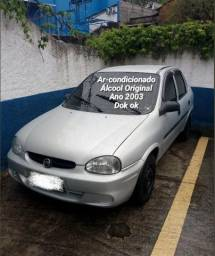 Título do anúncio: Corsa Sedan 2003 1.0 Álcool Original