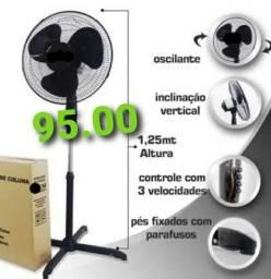 Título do anúncio: Ventilador Tufão 95.00 3 velocidades