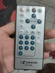 Título do anúncio: Controle dvd retrátil buster