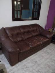 Conjunto sofá 3 e 2 lugares