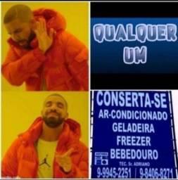 Título do anúncio: Geladeira, freezer e bebedouro; É COM ELE!!! *,