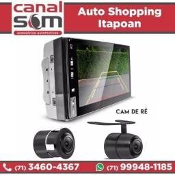 Título do anúncio: Central Multimídia Câmera Ré Grátis Instalada na Canal Som
