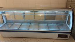 Freezer expositor 3 metros