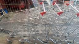 Carrinhos e cestos e acessorios para supermercados