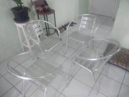 cadeiras de alumínio sem defeitos