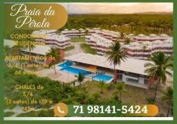 Título do anúncio: !Praia da Pérola|- 2 quartos em 68m², Acesso Exclusivo à Praia, (Ilhéus) / TR3*