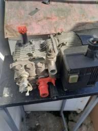 Lavadora gong x230 funciona mais não da pressão