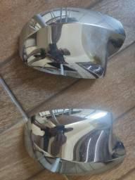 Capa espelho cromada Renault