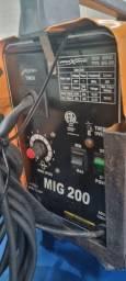 Título do anúncio: Maquina solda MIG 200 SEM GÁS