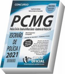 Título do anúncio: Apostila PC MG - Polícia Civil MG - Escrivão de Polícia I