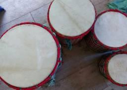 Tambores 4 tamanhos diferentes
