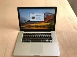 Título do anúncio: Mac Book Pro 15?