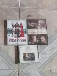 DVDs de filmes e Cd mozart
