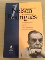 Livros: Teatro completo de Nelson Rodrigues