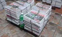 Jornal Velho Com 10 Kg - Folhas Limpas